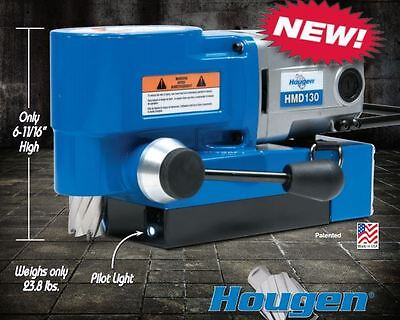Hougen Hmd130 Ultra Low Profile Magnetic Drill Replaces Hmd115 Hmd150 Usa Made