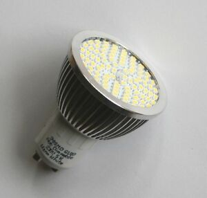 90 smd leds gu10 kaltwei 230v led leuchtmittel strahler lampe 50w halogenersatz ebay. Black Bedroom Furniture Sets. Home Design Ideas