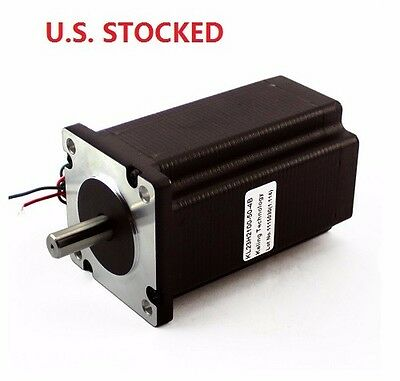 1pcs Nema23 570ozin 5a 38 Dual Shaft Stepper Motor