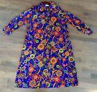 Psychedelic Vintage Dresses Caftan