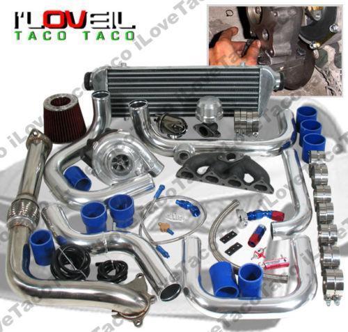 Honda B16 Supercharger: B20 Turbo Kit