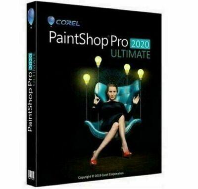 Corel PaintShop Pro  2020 🔑 Lifetime Activated 🔥