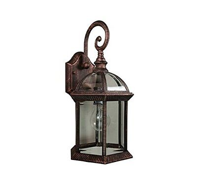 """Trans Globe Lighting 4181 BC Outdoor Wentworth 15.75"""" Wall L"""