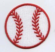 Baseball Iron on Patches