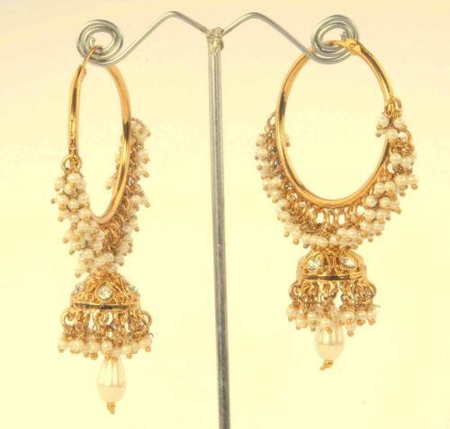 Indian Hoop Earrings Ebay