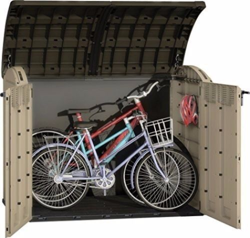 Keter Store It Out Ultra Size Storage Shed Bin Bike Tool