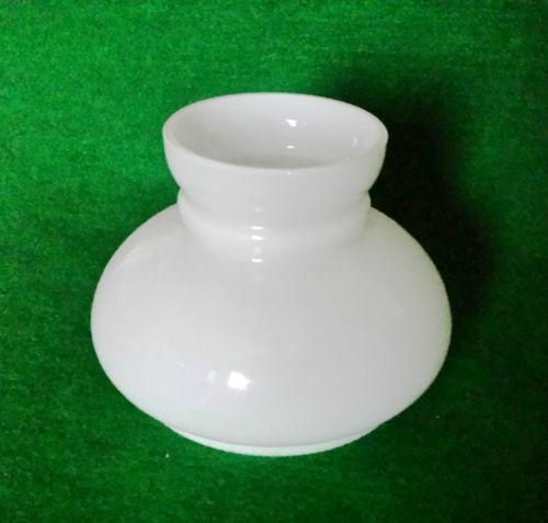 Glass Oil Lamp Shades : Glass oil lamp shade ebay