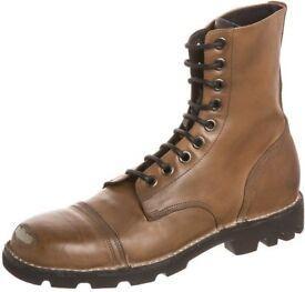 Diesel Diesel Mens Boots size 7 Y00981 P0550 T2159 MARRONE