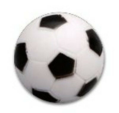 Kickerball schwarz-weiss klein mit 33 mm Ø