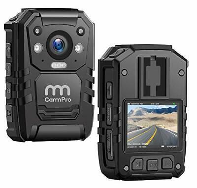 CammPro I826 1296P HD Police Body Camera128G MemoryWaterproof Body Worn Camer...