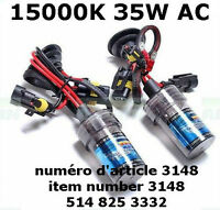 H8 35W AC 15000K HID BULB 2Pcs Super Bright HID Xenon Bulbs
