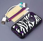 iPhone 4 Silicone Case Purple