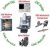 CNC Machine Retrofit Service Router Mill Lathe Plasma Laser