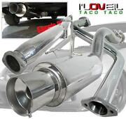 2001 Honda Civic Exhaust