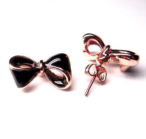 31ad7a1db7 Bow Earrings | eBay