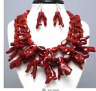 Red Coral Fashion Necklaces