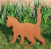 Gartendeko Katze