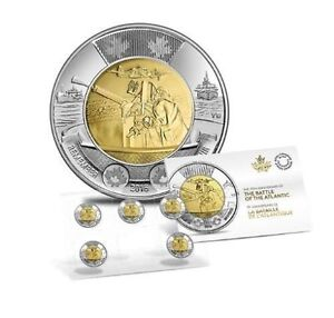 2016 Canada 75th Anniversary Battle Of The Atlantic toonie pack