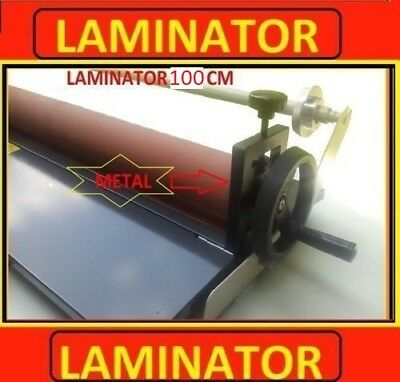LAMINATRICE CALANDRA LAMINATORE PLASTIFICATRICE 1000mm Roller silicone Nuovo