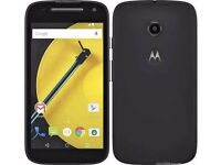 Motorola Moto E XT1524 -2nd Generation 8GB Black 4G LTE Unlocked