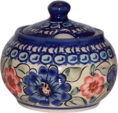 Boleslawiec Polish Pottery UNIKAT Sugar Bowl