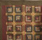 Log Cabin Rustic/Primitive Quilts, Bedspreads & Coverlets