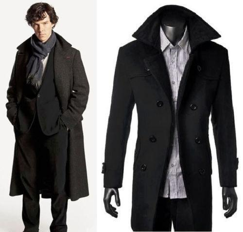 sherlock holmes coat ebay. Black Bedroom Furniture Sets. Home Design Ideas