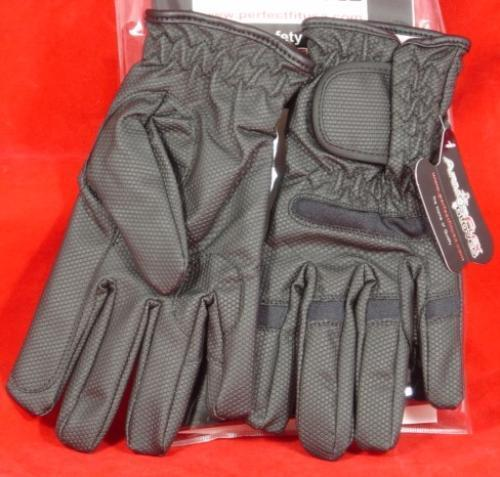 ArmorFlex Leather Duty Tactical Gloves Cut Resist Size Medium