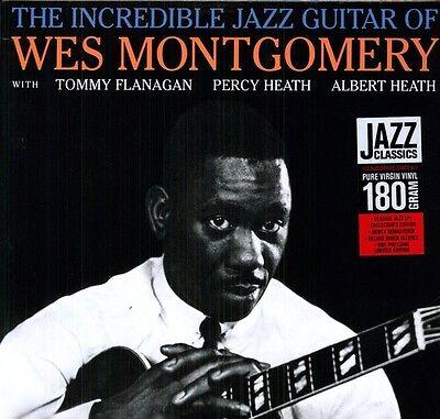 Wes Montgomery   Incredible Jazz Guitar  New Vinyl  180 Gram