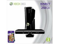 XBOX 260 Special edition (250GB) with Kinect Sensor and games bundle + Nyko Zoom for Kinect