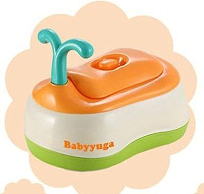 Multi functional 3 in 1 Potty Chair Toilet Seat Stool Seat Baby Potty Childrenu0027s Potty Removable Easy Clean Inner Potty with Lid | High Back Rest ...  sc 1 st  eBay & Baby Children Potty Chair Potty Training Toilet Seat / Step Stool ... islam-shia.org
