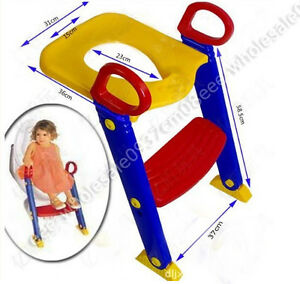 Baby Toddler Potty Training Toilet Ladder Seat Steps Potty