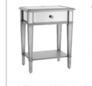 **Brand New Mirrored Coffee-table/Nightstand x2***