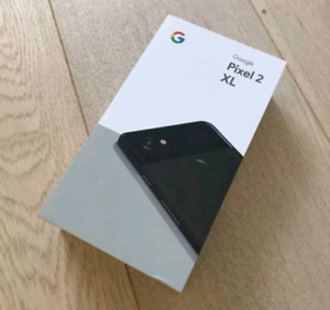 Brand New Google Pixel 2 XL 64gb Black SEALED Unopened !