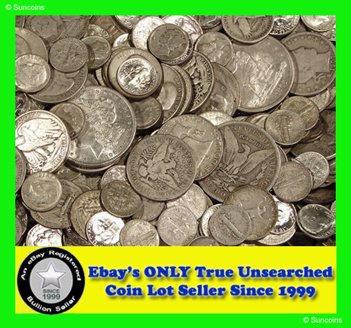 """ABSOLUTELY THE BEST COIN LOT DEAL ON EBAY! """"""""ALL SILVER"""""""""""