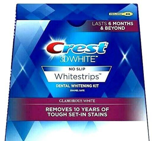 Crest 3D GLAMOROUS WHITE Whitestrips Teeth Dental Whitening Strips NEW No Box