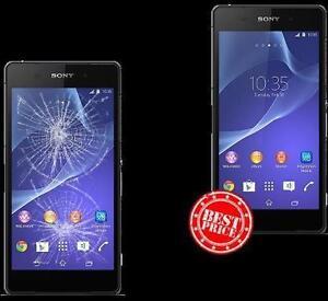 ** Sony Xperia Z Z1 Z2 Z3 Z4 Z5 M4 Ultra cracked screen LCD repair **