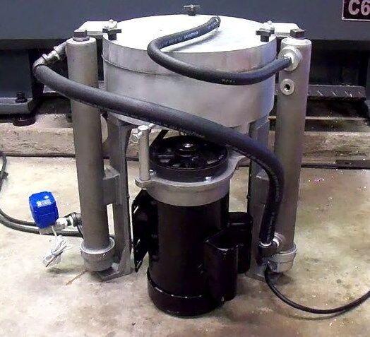 US Filtermaxx 10,000G Programable WVO Biodiesel Oil Centrifuge Black Diesel