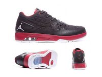 2016 Jordan clutch trainers Black/Gym Red white size 10