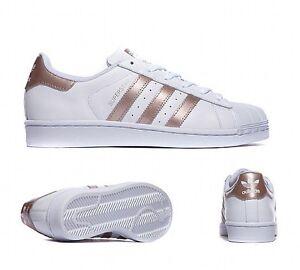 Adidas Superstar Doré Blanc