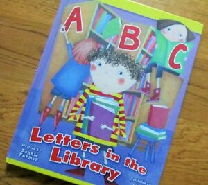 ^^^ A B C ^^^ LETTERS  in the LIBRARY....