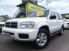 2001 Nissan Pathfinder TI (4x4) White 4 Speed Automatic 4x4 Wagon Homebush Strathfield Area Preview