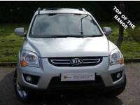 £0 DEPOSIT FINANCE (09)KIA Sportage 2.0 CRDi Titan 4WD 5dr***HEATED LEATHER** FREE AA WARRANTY