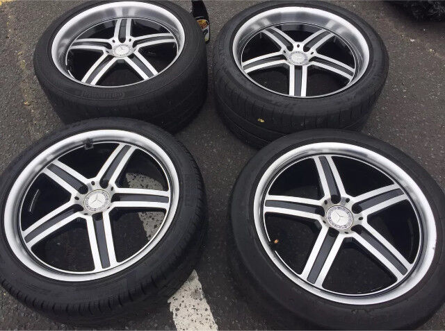 18inch Mandrus deep dish alloys and tyres