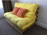 Sterling Furniture Pine Futon sofa/ bed