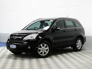 2008 Honda CR-V MY07 (4x4) Luxury Black 5 Speed Automatic Wagon Morley Bayswater Area Preview