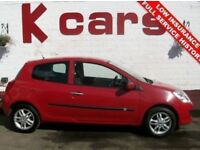 2008 RENAULT CLIO 1.1 EXPRESSION LOW INSURANCE GREAT FIRST CAR