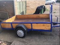 9x7ft ling trailer with custom cover