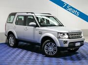 2015 Land Rover Discovery MY16 3.0 SDV6 HSE Indus Silver 8 Speed Automatic Wagon Morley Bayswater Area Preview