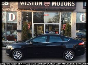 2013 Ford Fusion SE*POWER GROUP*100% APPROVED FINANCING!!